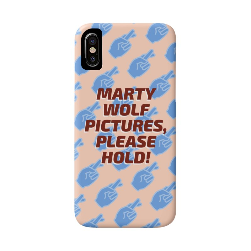 Marty Wolf Pictures Phone Case in iPhone X / XS Phone Case Slim by So Yesterday