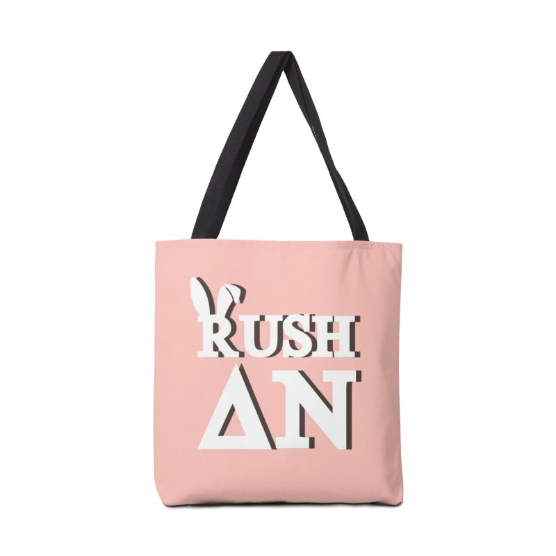 Delta Nu Tote Accessories Tote Bag Bag by So Yesterday