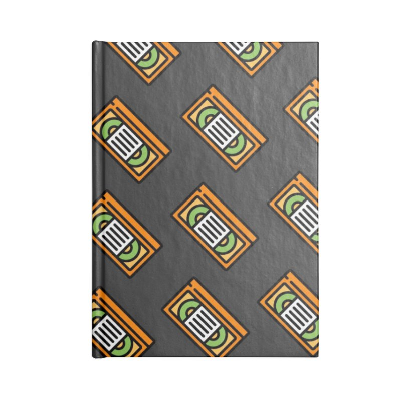 Nick VHS Notebook Accessories Lined Journal Notebook by So Yesterday