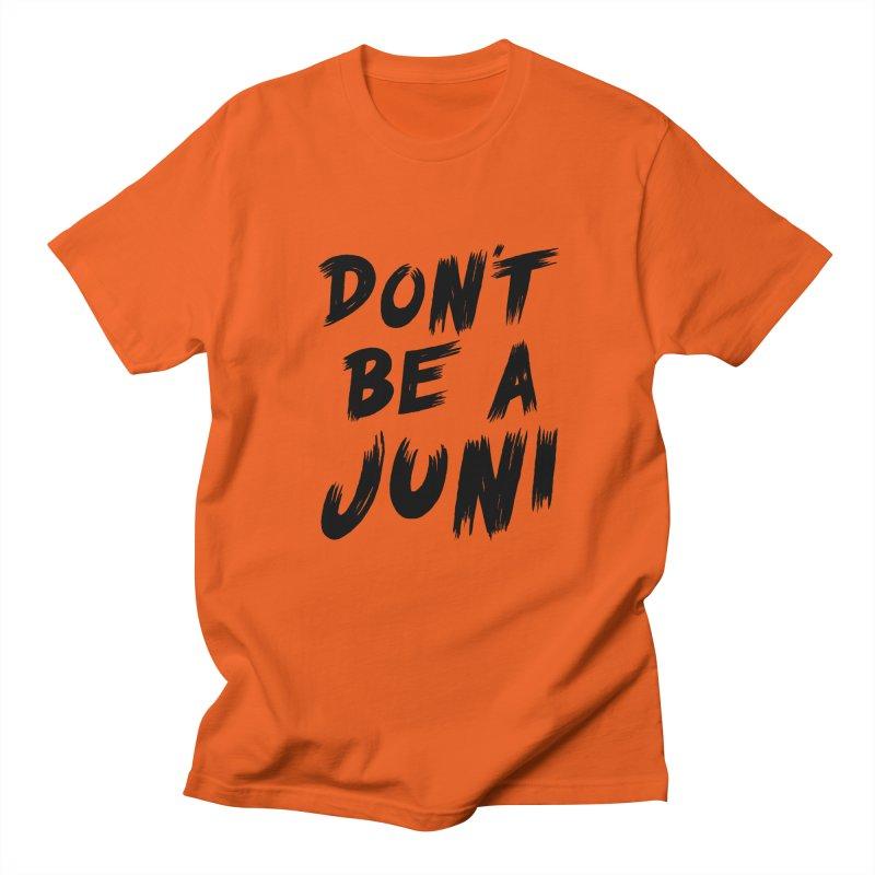 Juni Tee (Black Text) Men's T-Shirt by So Yesterday