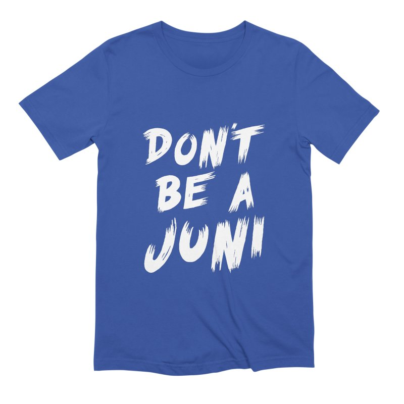 Juni Tee (White Text) Men's Extra Soft T-Shirt by So Yesterday