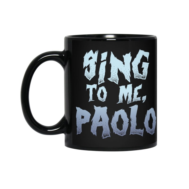 Sing To Me, Paolo Mug Accessories Standard Mug by So Yesterday