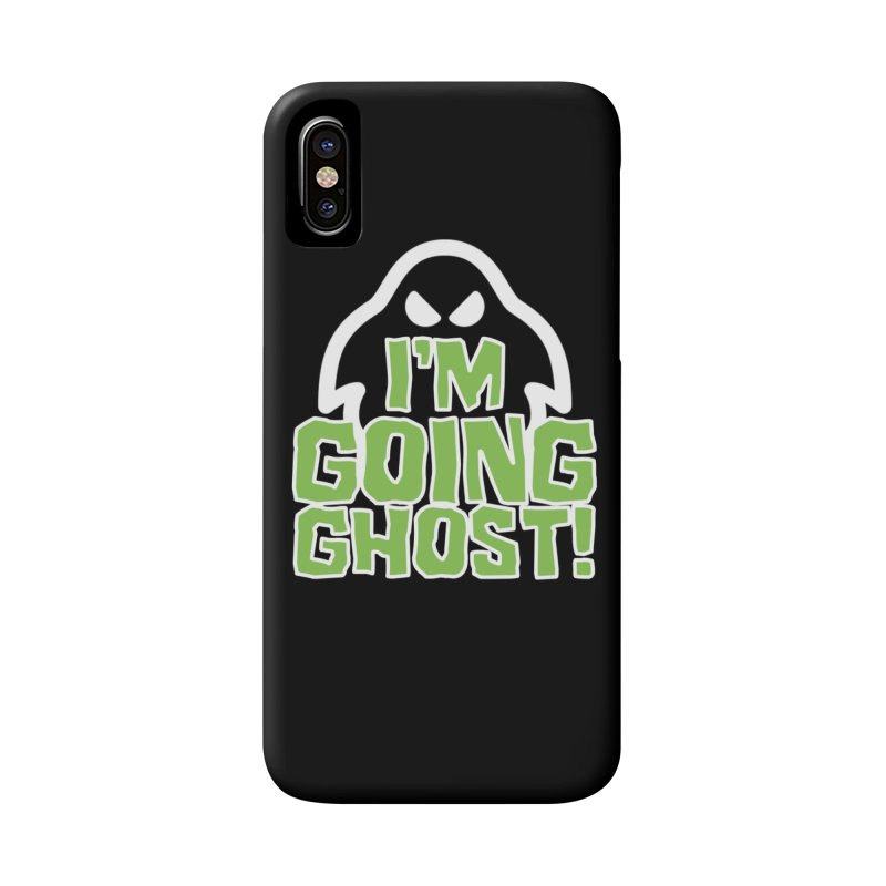 Going Ghost Phone Case in iPhone X / XS Phone Case Slim by So Yesterday