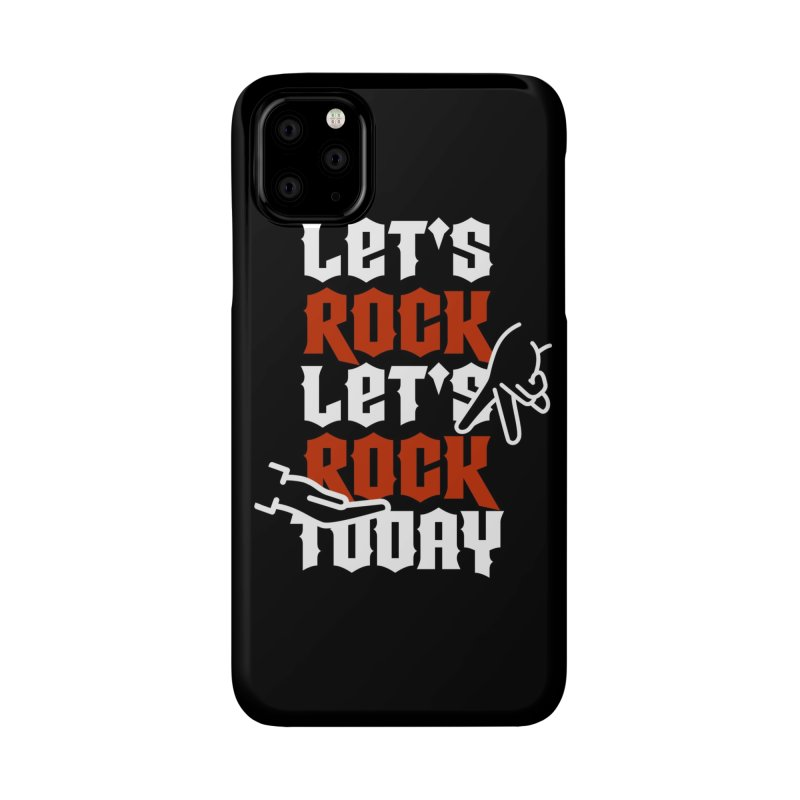 Let's Rock Phone Case Accessories Phone Case by So Yesterday