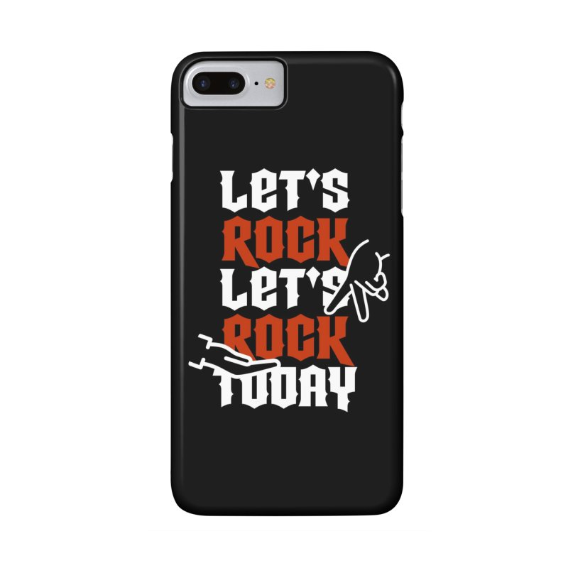 Let's Rock Phone Case in iPhone 7 Plus Phone Case Slim by So Yesterday