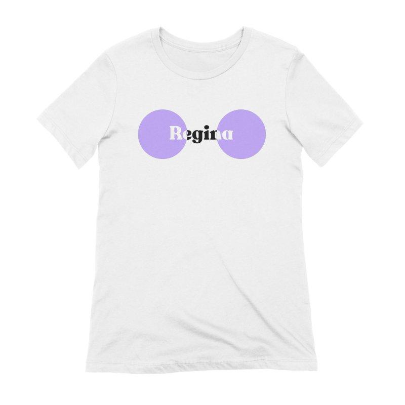 Regina Tee in Women's Extra Soft T-Shirt White by So Yesterday