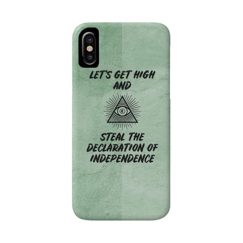 Declaration Phone Case in iPhone X / XS Phone Case Slim by So Yesterday