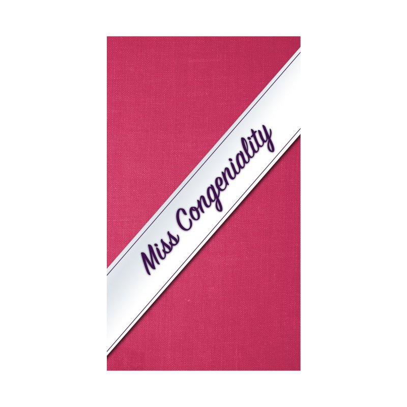 Miss Congeniality Phone Case by So Yesterday