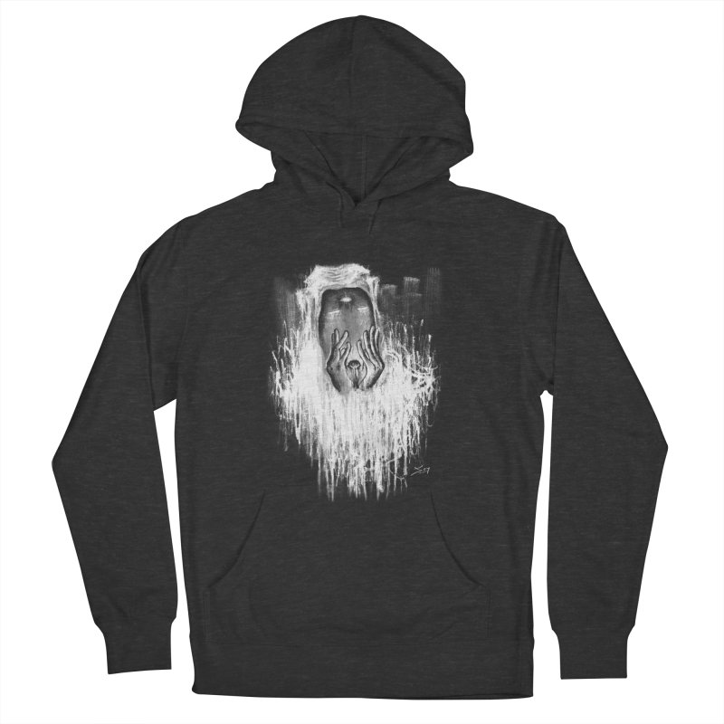 response Women's French Terry Pullover Hoody by soymeeshii's artist shop