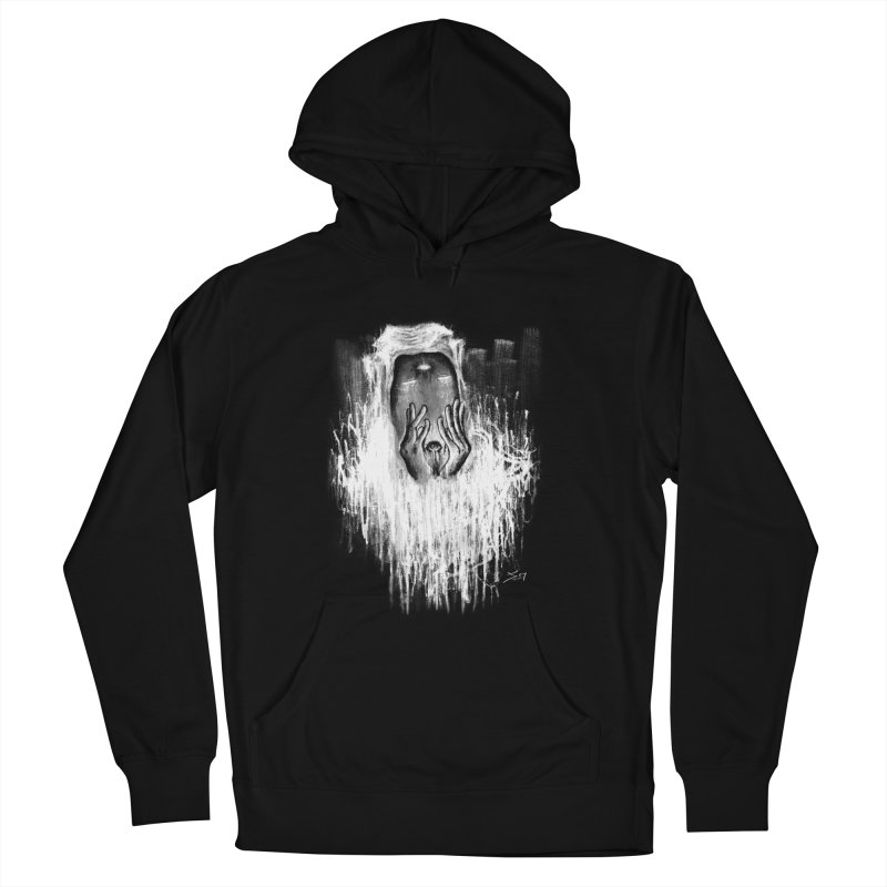 response Men's French Terry Pullover Hoody by soymeeshii's artist shop