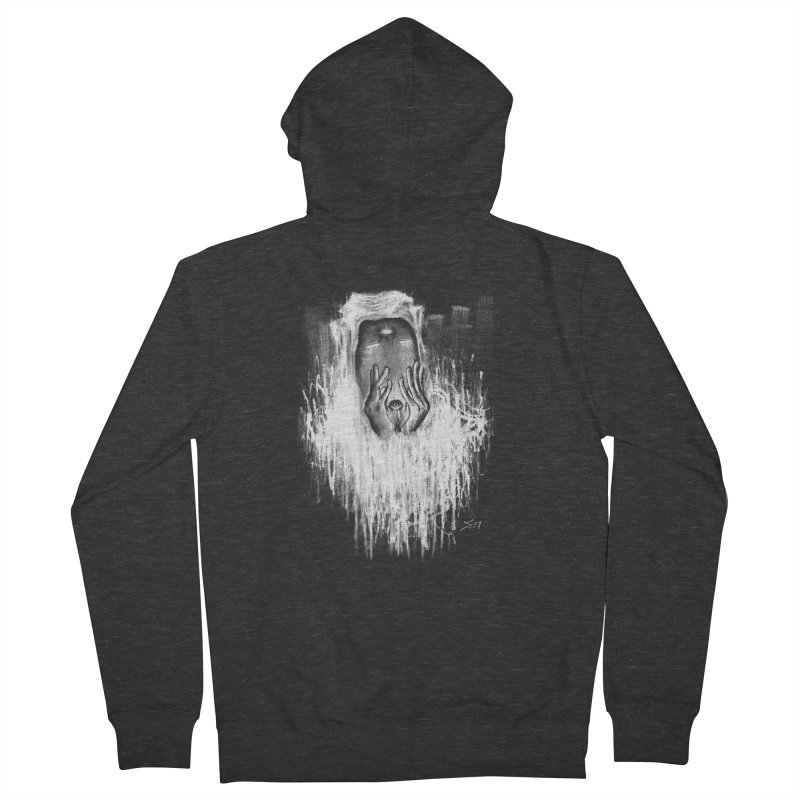 response Women's French Terry Zip-Up Hoody by soymeeshii's artist shop