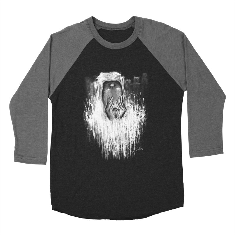 response Men's Baseball Triblend Longsleeve T-Shirt by soymeeshii's artist shop