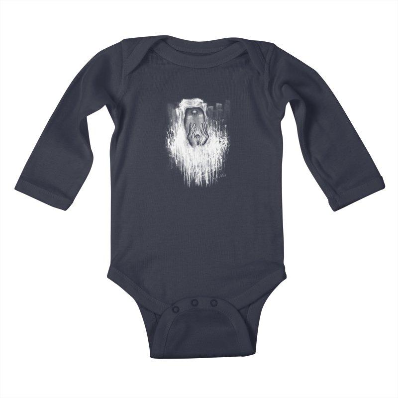 response Kids Baby Longsleeve Bodysuit by soymeeshii's artist shop