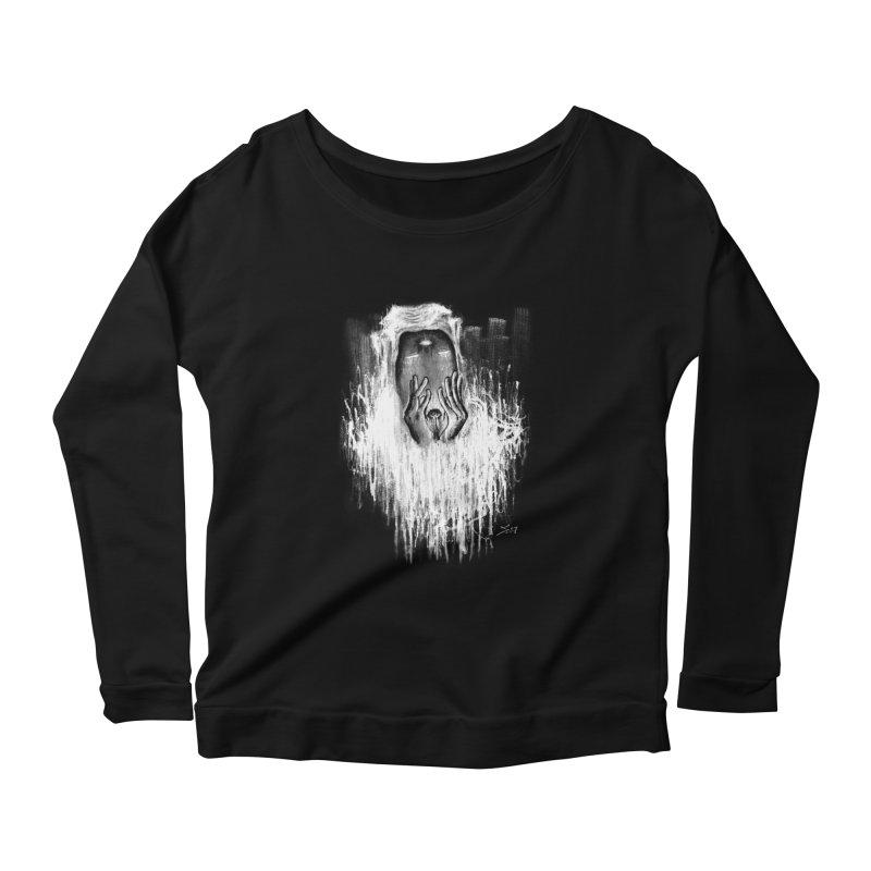 response Women's Scoop Neck Longsleeve T-Shirt by soymeeshii's artist shop