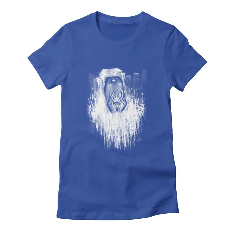 response Women's Fitted T-Shirt by soymeeshii's artist shop