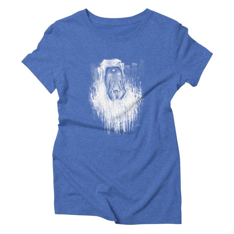 response Women's Triblend T-Shirt by soymeeshii's artist shop