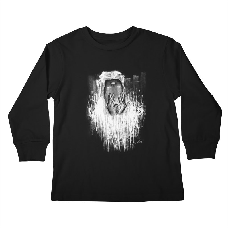 response Kids Longsleeve T-Shirt by soymeeshii's artist shop