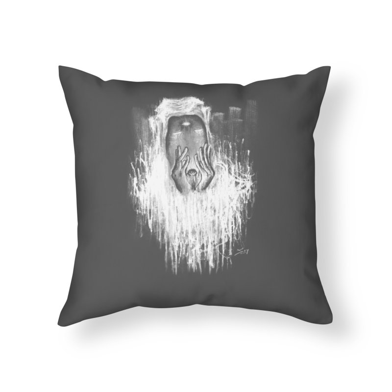 response Home Throw Pillow by soymeeshii's artist shop