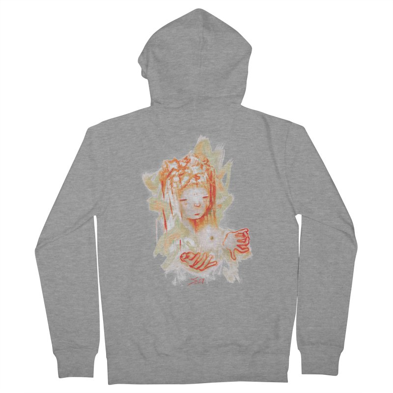 projections_2 Women's Zip-Up Hoody by soymeeshii's artist shop