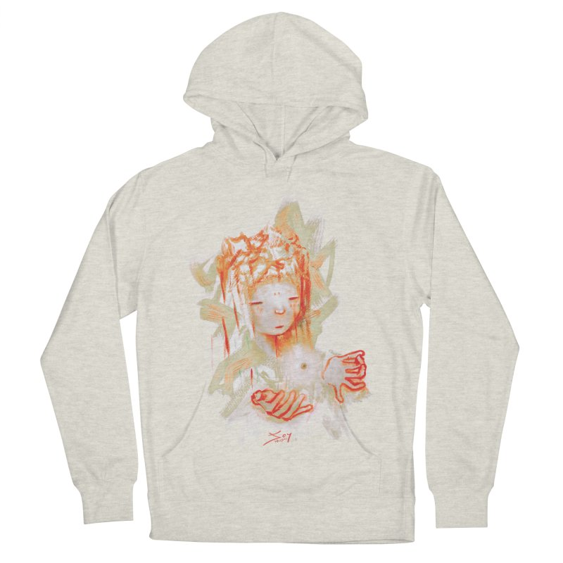 projections_2 Women's French Terry Pullover Hoody by soymeeshii's artist shop