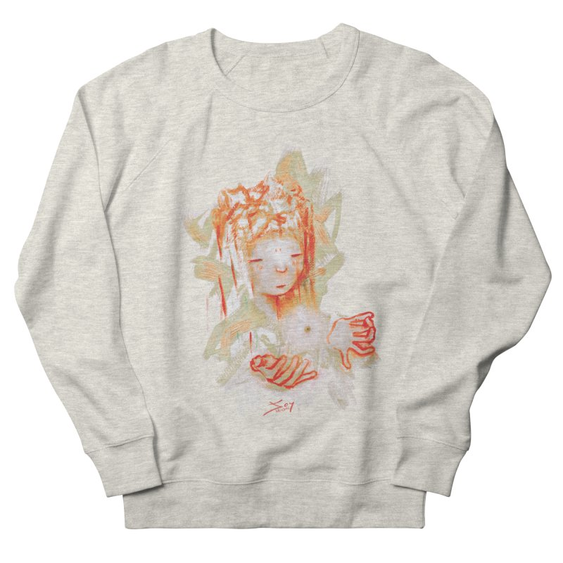 projections_2 Women's French Terry Sweatshirt by soymeeshii's artist shop