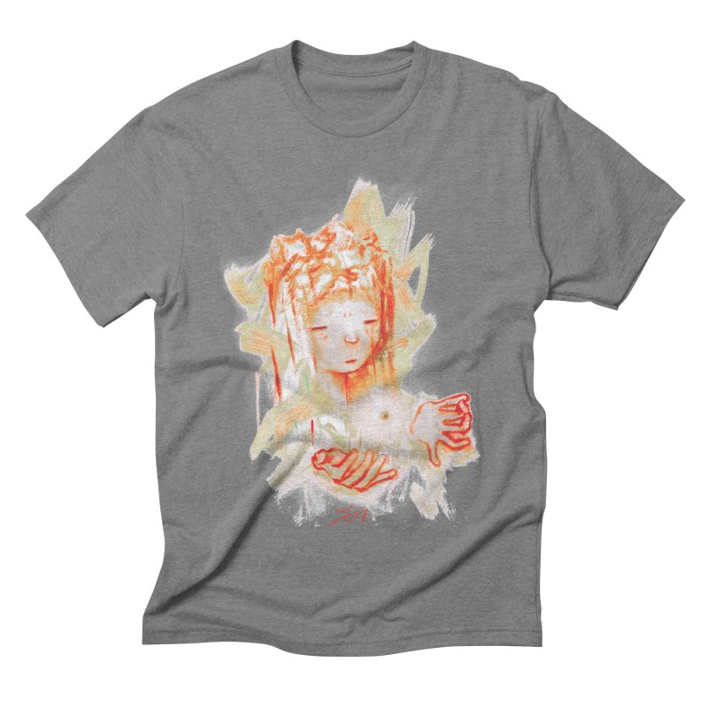 projections_2 Men's Triblend T-Shirt by soymeeshii's artist shop