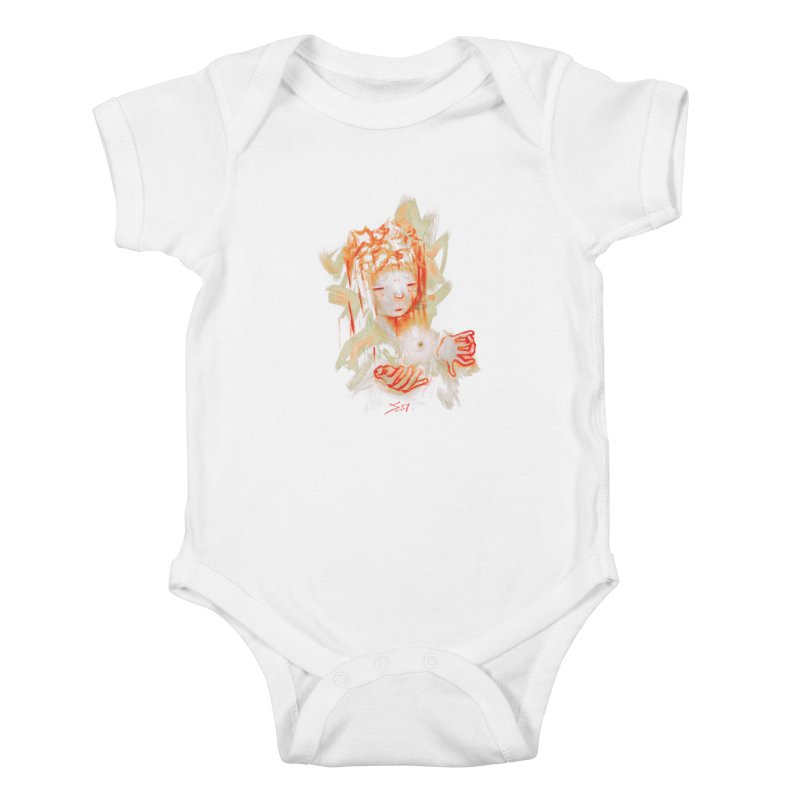 projections_2 Kids Baby Bodysuit by soymeeshii's artist shop