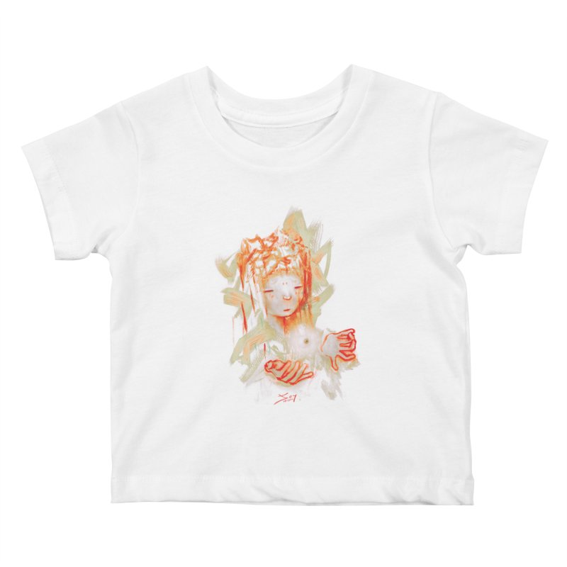 projections_2 Kids Baby T-Shirt by soymeeshii's artist shop
