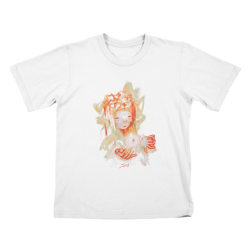 projections_2 Kids T-Shirt by soymeeshii's artist shop