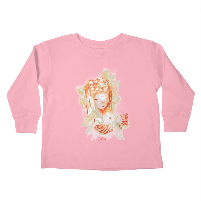 projections_2 Kids Toddler Longsleeve T-Shirt by soymeeshii's artist shop