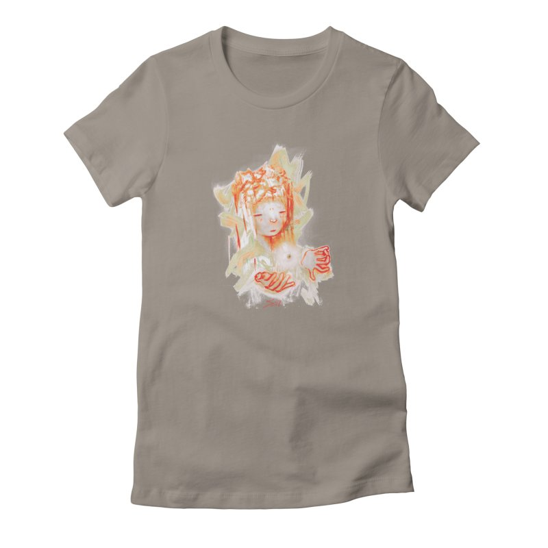 projections_2 Women's T-Shirt by soymeeshii's artist shop