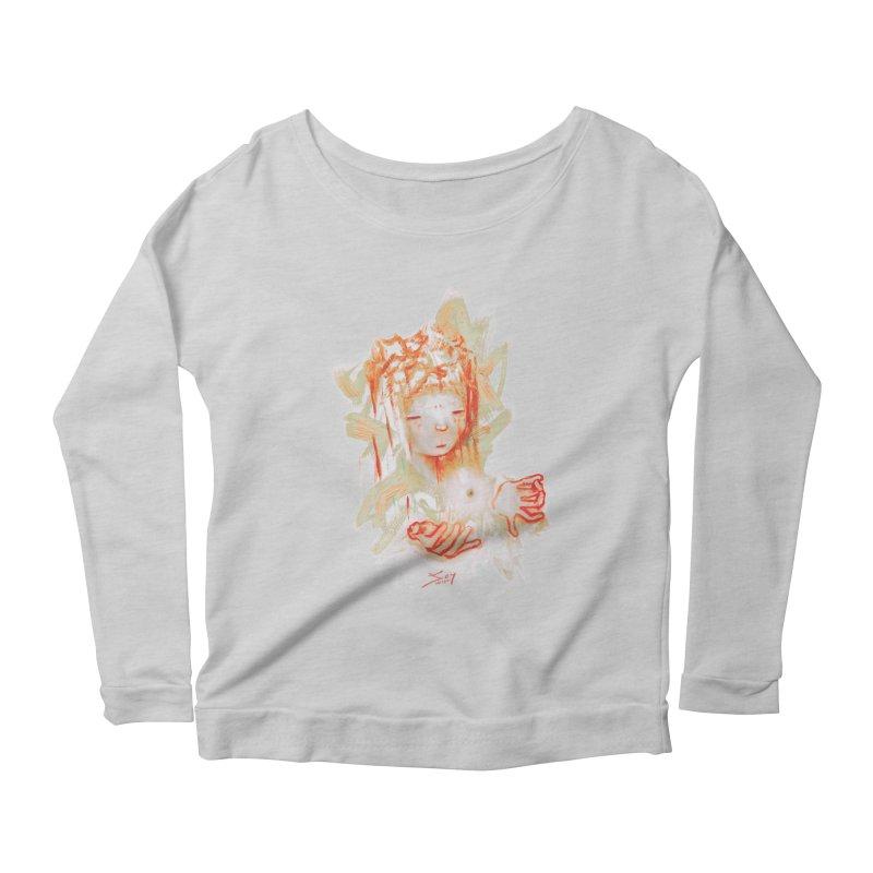 projections_2 Women's Scoop Neck Longsleeve T-Shirt by soymeeshii's artist shop