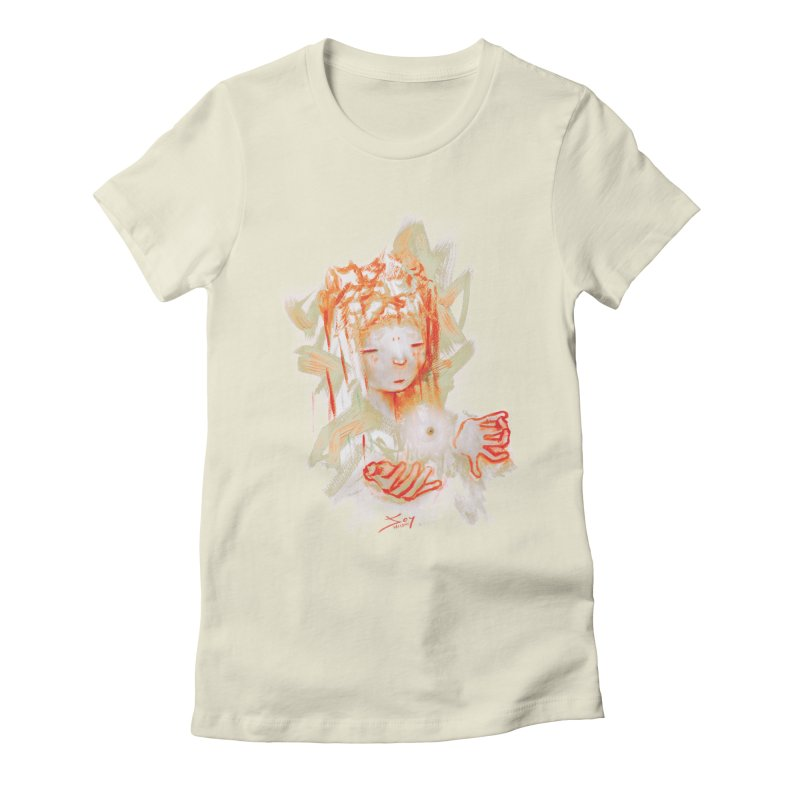 projections_2 Women's Fitted T-Shirt by soymeeshii's artist shop