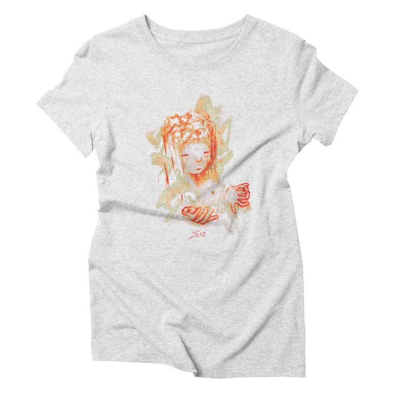 projections_2 Women's Triblend T-Shirt by soymeeshii's artist shop