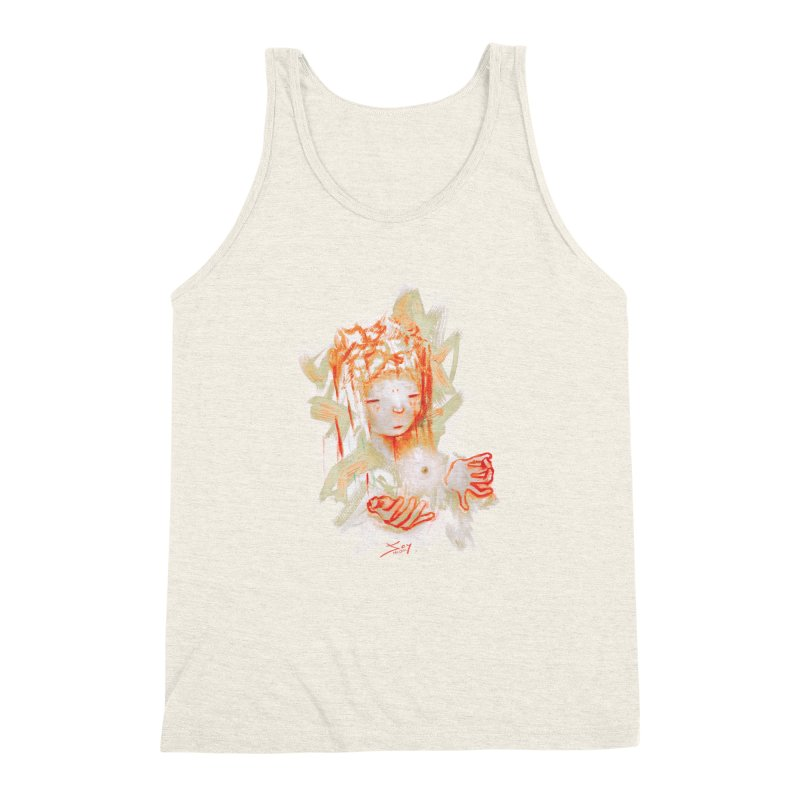 projections_2 Men's Triblend Tank by soymeeshii's artist shop