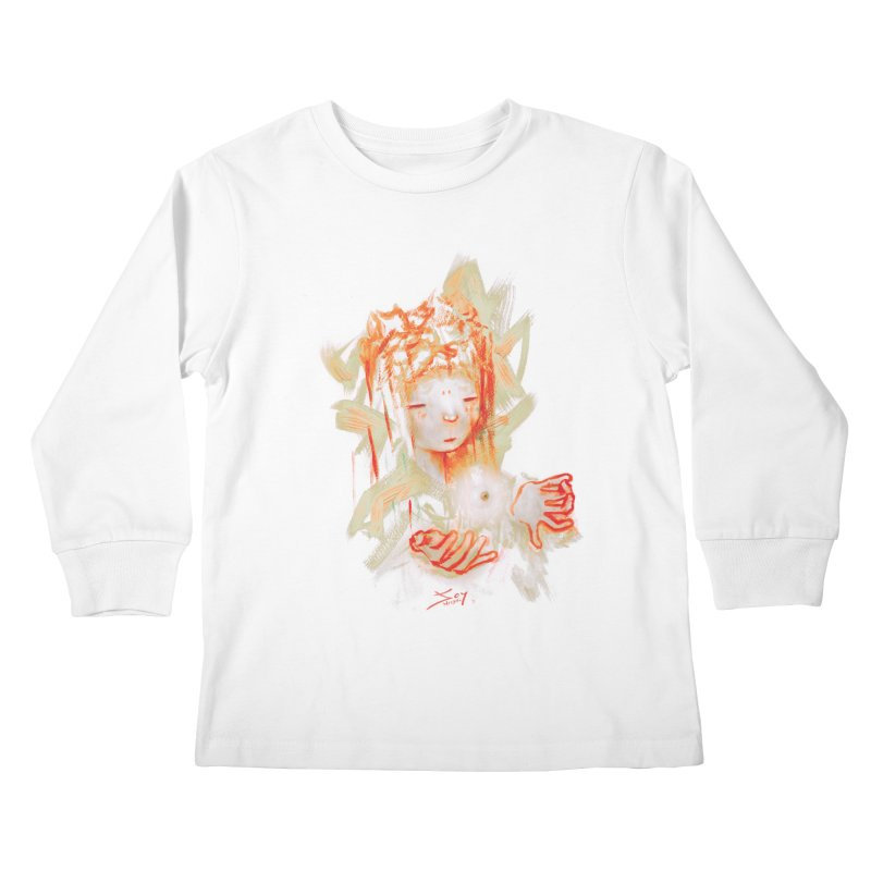 projections_2 Kids Longsleeve T-Shirt by soymeeshii's artist shop