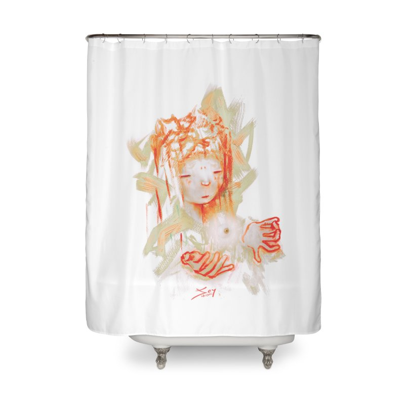 projections_2 Home Shower Curtain by soymeeshii's artist shop
