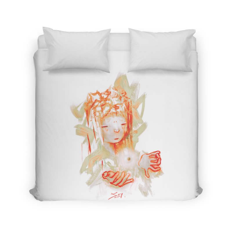 projections_2 Home Duvet by soymeeshii's artist shop