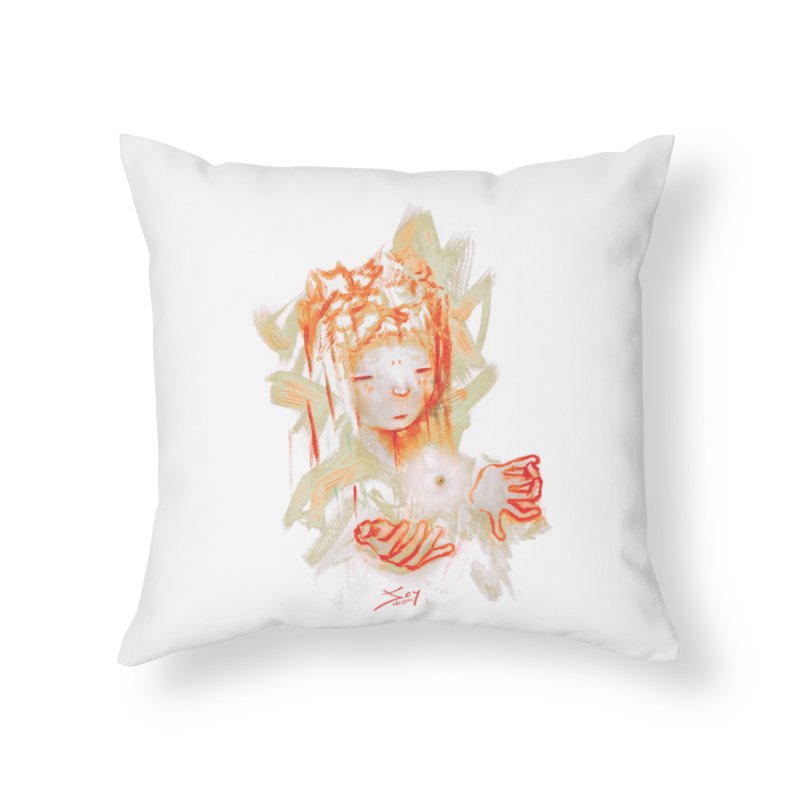 projections_2 Home Throw Pillow by soymeeshii's artist shop