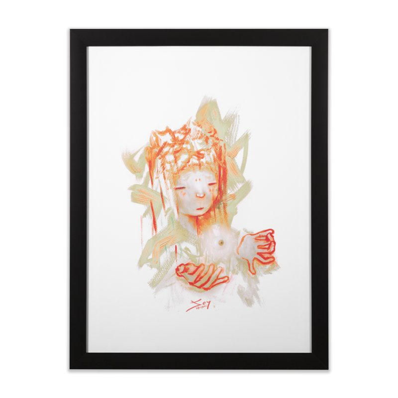 projections_2 Home Framed Fine Art Print by soymeeshii's artist shop