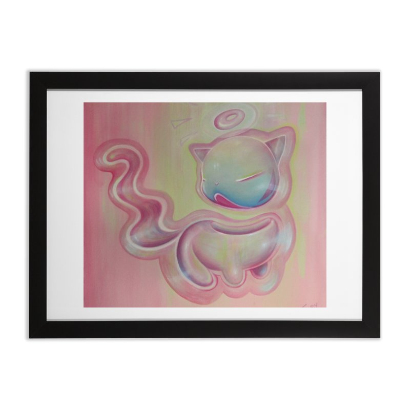 moosh Home Framed Fine Art Print by soymeeshii's artist shop