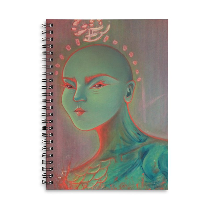 RBF kween Accessories Lined Spiral Notebook by soymeeshii's artist shop