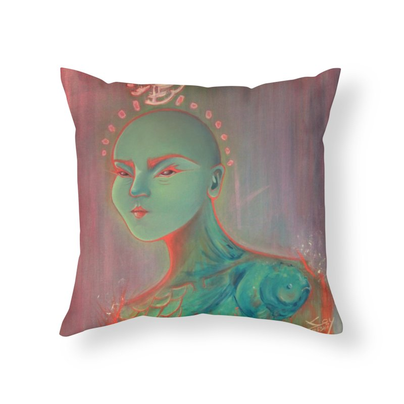 RBF kween Home Throw Pillow by soymeeshii's artist shop