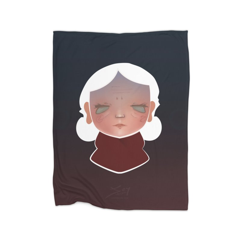 the wize (dark) Home Blanket by soymeeshii's artist shop