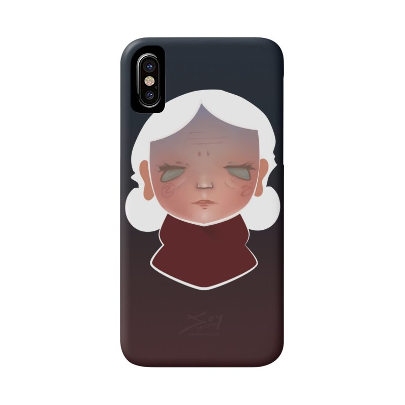 the wize (dark) Accessories Phone Case by soymeeshii's artist shop