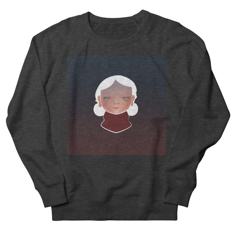 the wize (dark) Men's French Terry Sweatshirt by soymeeshii's artist shop