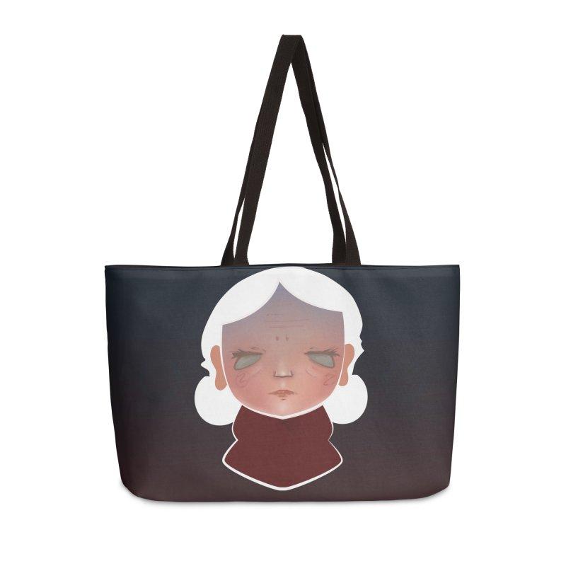 the wize (dark) Accessories Weekender Bag Bag by soymeeshii's artist shop