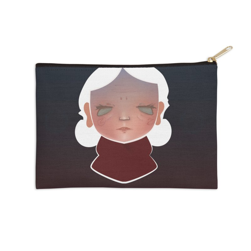 the wize (dark) Accessories Zip Pouch by soymeeshii's artist shop
