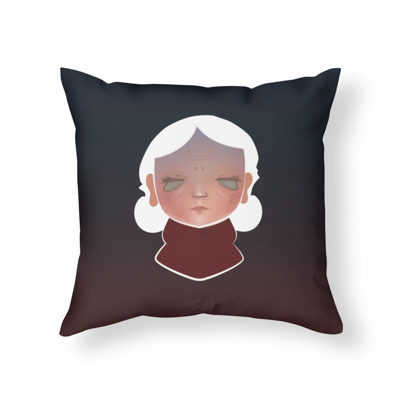 the wize (dark) Home Throw Pillow by soymeeshii's artist shop