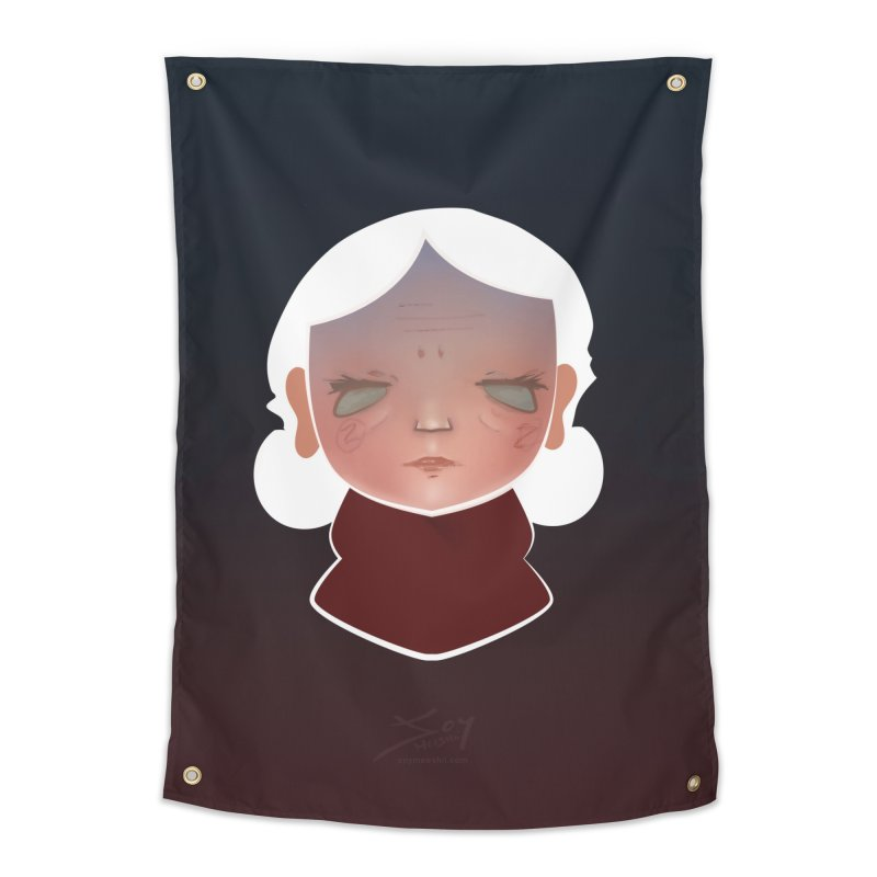 the wize (dark) Home Tapestry by soymeeshii's artist shop